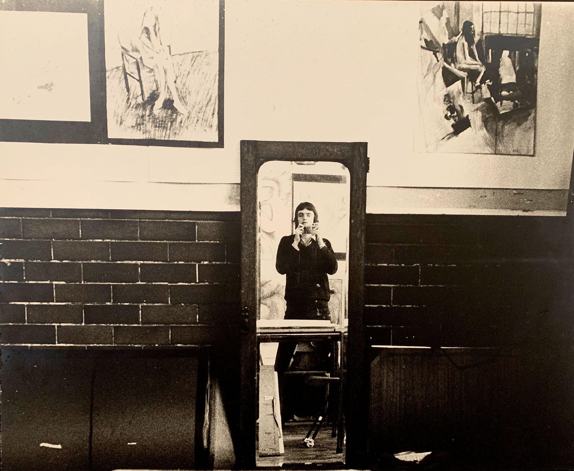 Jeremy Llewellyn-Jones at Art Schoo